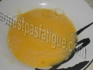 escalope parmesane_étape 2
