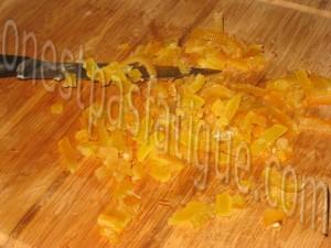 brownies oranges confites_etape 2