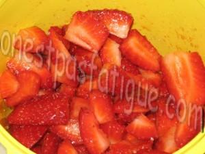 tartare fraises_étape 1