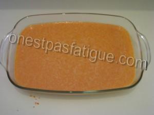 gateau carottes light_étape 3