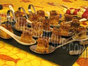 bouchees foie gras miel balsa