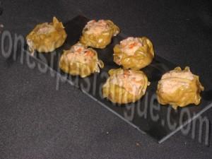 bouchées crevettes vapeur1
