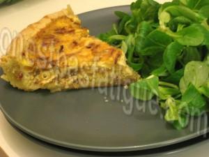 quiche oignons lardons pancetta