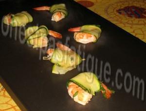 crevettes roulées aux courgettes_etape 4