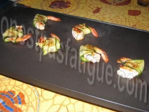 crevettes roulées aux courgettes_etape 5