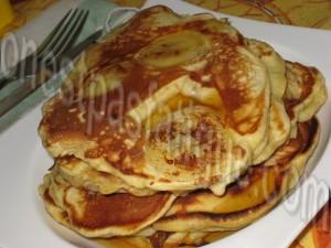 pancakes bananes rhum-raisins