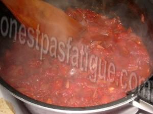 côtelettes agneau et compote de tomates_etape 3