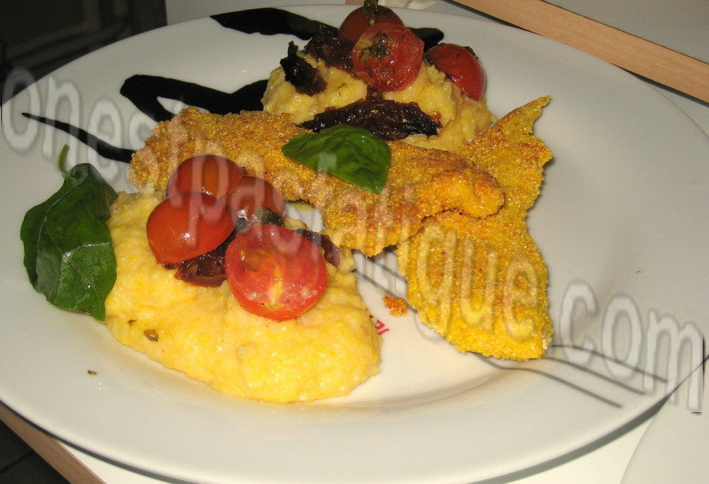 batonnets poulet pane polenta tomates cerises_photo site