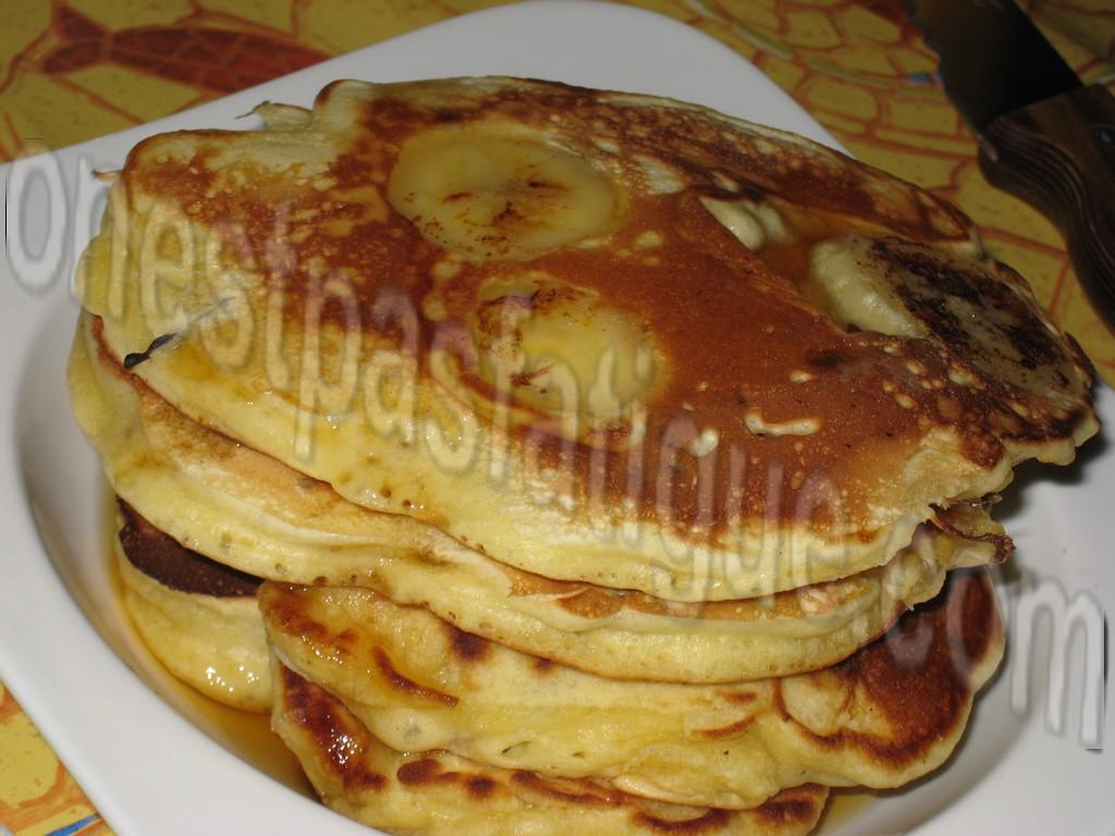 pancakes bananes raisins au rhum_photo site