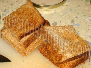 toasts chevre miel_etape 2