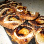 toasts chevre grilles au miel_photo site