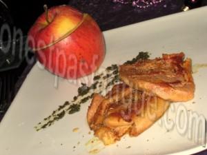 foie gras pomme surprise