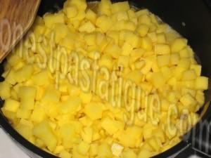 poêlée légumes et chorizo_etape 1