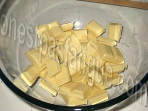 glaçage chocolat blanc_etape 1