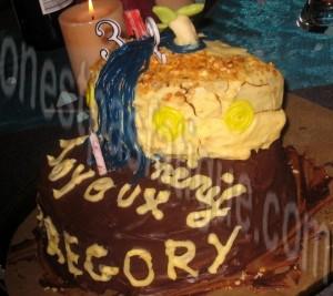 gâteau d'anniversaireb