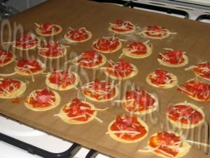 mini pizza extra plates_etape 5