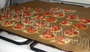 mini pizza extra plates_etape 6