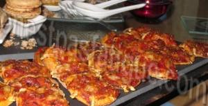 mini pizza extra plates