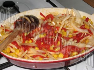 tortilla mais poivron_etape 4