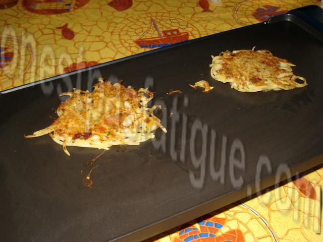 galette de pommes de terre aux magrets fum s et poivrons plancha. Black Bedroom Furniture Sets. Home Design Ideas