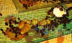 ananas caramelise rhum plancha
