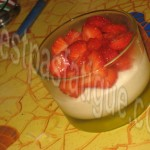 verrines mousse chocolat blanc fraises_photo wall