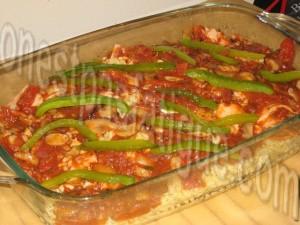 gratin de pâtes sauce tomates grillées_etape 4