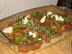 gratin de pâtes sauce tomates grillées_etape 5