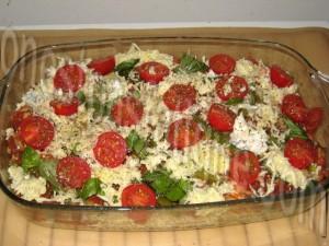 gratin de pâtes sauce tomates grillées_etape 6