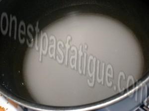 ananas grillé menthe coco_etape 1