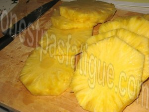 ananas grillé menthe coco_etape 5