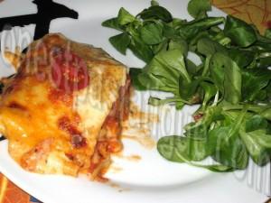 lasagnes au poulet et légumesb
