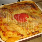 lasagnes au poulet et legumes_photo wall
