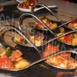 tartare tomates melon a la canelle et au basilic_photo wall