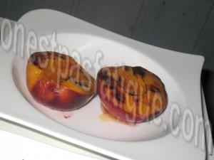 nectarines roties creme amaretti_etape 2