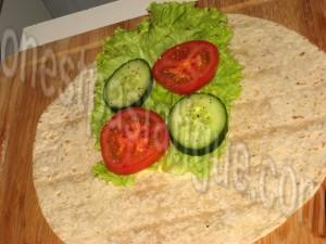wrap poulet légumes_etape 4