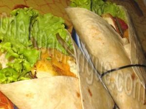 wrap poulet légumesb