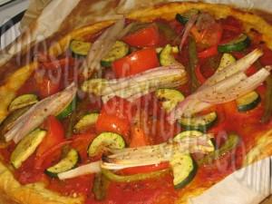 pizza fine legumes