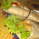 wraps au poulet et legumes_photo wall