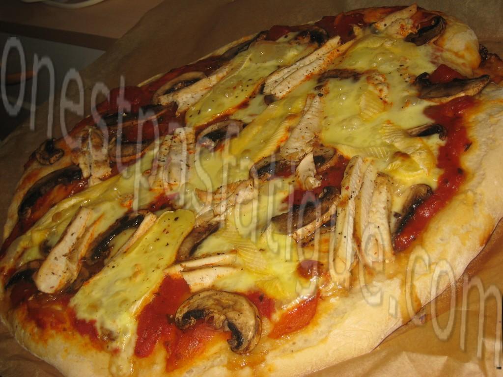 pizza poulet reblochon_photo wall