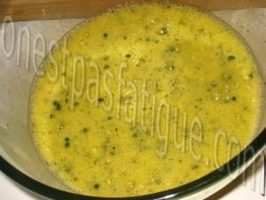 omelette roulée_etape 2