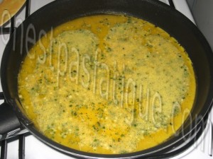 omelette roulée_etape 3