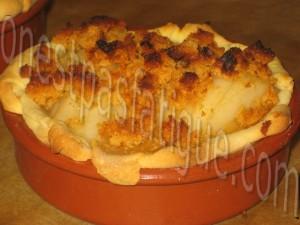 tartelettes poires pain d'epices