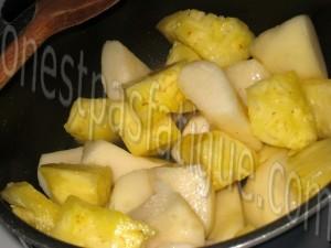 terrine poire ananas roquefort et chutney oignon_etape 5