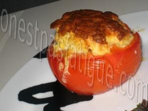tomate souflée