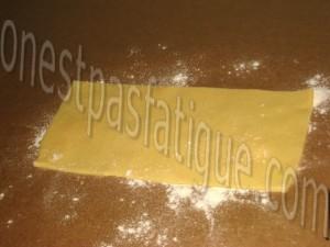 ravioles st jacques sauce vin blanc crumble appenzeller_etape 2