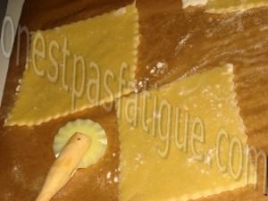 ravioles st jacques sauce vin blanc crumble appenzeller_etape 10