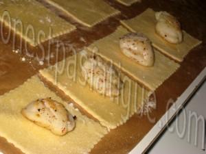 ravioles st jacques sauce vin blanc crumble appenzeller_etape 11