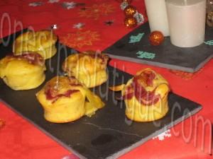 muffin magret reblochon