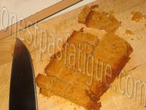 toast foie gras pomme flambee calvados croustillant pain d'épices_etape 1